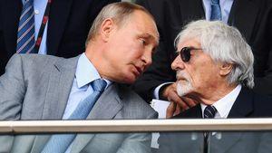 Экс-глава Формулы-1 Экклстоун высказался о Путине: «Он простой и прямой человек»