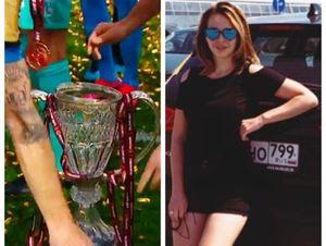Жена футболиста «Химок» съязвила в адрес игроков «Зенита», разбивших кубок после победы в финале