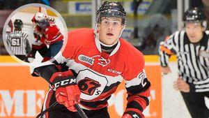 Русский хоккеист уложил двух канадцев за30 секунд. «Мельница» инокдаун Охотюка— один излучших моментов сезона