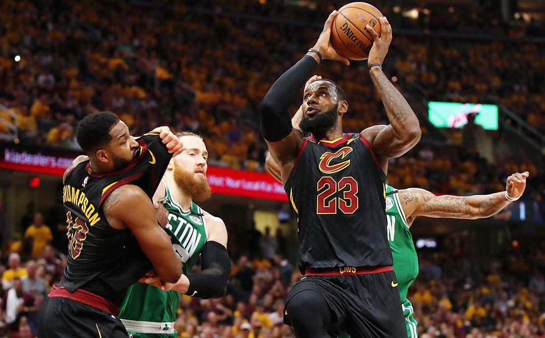 «Кливленд» обыграл «Бостон» исократил отставание вполуфинальной серии плей-офф НБА