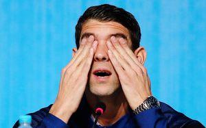 Депрессия съедает 23-кратного олимпийского чемпиона. Но он нашел время, чтобы накинуться на Россию