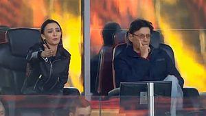 Жена Федуна активно выражала недовольство игрой «Спартака» в матче с «Химками»: фото