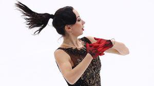 Туктамышева объяснила, почему упала на четверном прыжке на чемпионате России