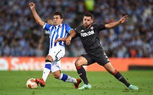 «Монако» не смог обыграть «Реал Сосьедад» в Лиге Европы. Головин вышел на замену во 2-м тайме
