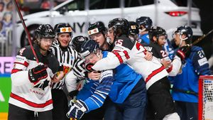 Канада выиграла у Финляндии в овертайме и стала чемпионом мира — 2021