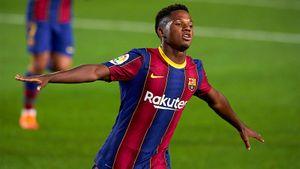 Фати — главная звезда первого матча Кумана в «Барселоне». 17-летний парень даже для Месси сделал гол!