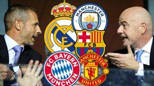 «Футбол не будет прежним». ФИФА и УЕФА пытаются отговорить топ-клубы от создания Суперлиги
