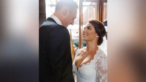 Анна Седокова вышла замуж за латвийского баскетболиста Тимму и показала свадебное фото. Он младше ее на 9 лет