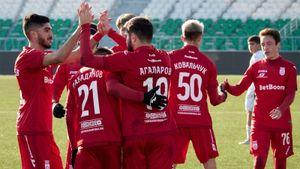 7:6. «Уфа» и «Химки» выдали самый результативный матч в истории молодежного первенства России