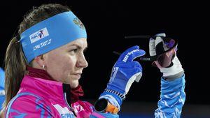Русская биатлонистка Сливко поблагодарила белорусского тренера за серебро в смешанной эстафете на ЧЕ