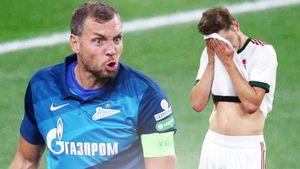 Дзюба полез в драку и обещал найти Миранчука после матча. Как «Локо» остановил «Зенит» в погоне за трофеем