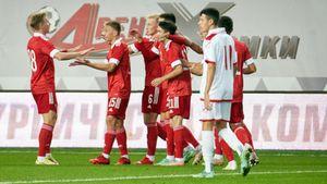 Молодежная сборная России разгромила Мальту в квалификации Евро-2023