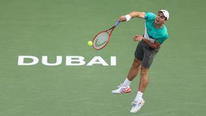 Карацев победил Эванса и вышел в 1/8 финала турнира в Дубае