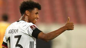 Германия забила Армении 6 безответных голов в квалификации ЧМ. Гнабри оформил дубль