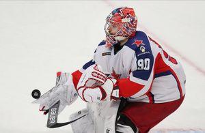 Илья Сорокин вышел на2-е место почислу матчей наноль вистории КХЛ