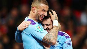 «Сити» поиздевался над Сульшером в Кубке лиги. Бернарду забил суперголешник, а «МЮ» — в свои