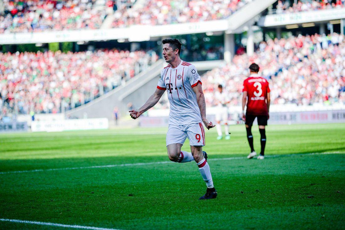 «Бавария» переиграла «Ганновер» вматче чемпионата Германии