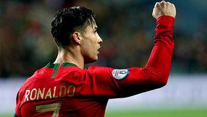 Роналду сыграл 2 матча за3 дня всборной, забил 99-й гол ивышел наЕвро. Похоже, травмы унего нет
