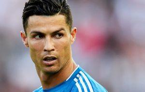 Роналду ответил жестом на провокации болельщиков «Атлетико» в матче Лиги чемпионов