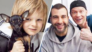 Ургант пошутил о прозвище 7-летнего сына Плющенко