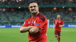 Дубль Шакири принес Швейцарии победу над Турцией на Евро-2020
