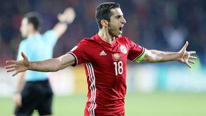 Италия Манчини помогла Армении. УМхитаряна хорошие шансы попасть наЕвро