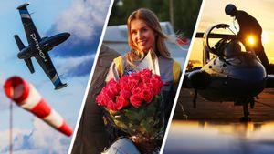 Самолет в свободном падении, «привет» из открытой кабины и первая женщина-пилот авиагонок: фото Кубка России