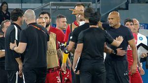 Страсти после матча «Наполи»— «Спартак»! Спаллетти чуть не подрался с людьми из «Спартака»: что это было?