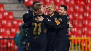 Невероятный матч «Барсы»: проигрывали 0:2 к 88-й минуте, но забили 5 и вышли в полуфинал Кубка!