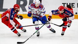 ЦСКА и СКА провели самое длинное армейское дерби в истории КХЛ