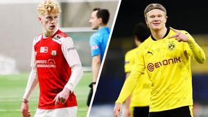 Брат Холанда забил 64 гола в 37 матчах. Его карьера в точности повторяет путь звезды из «Дортмунда»