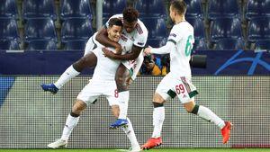 «Локо» мужественно бился с «Зальцбургом»: дважды пропустил после гола Эдера, но не поплыл и героически отыгрался