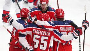 СКА без шансов проиграл в Москве. ЦСКА был на голову сильнее в дерби и почти забрал первое место на Западе