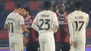 «Милан» в большинстве обыграл «Болонью» и вышел на 1-е место Серии А. Ибрагимович забил в свои и чужие ворота