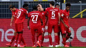 Кажется, «Бавария»— уже чемпион. Киммих прикончил «Боруссию» шедевральным парашютом