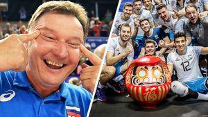 Аргентинские игроки повторили жест тренера сборной России и сузили глаза. Новый скандал в волейболе