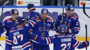 СКА в овертайме вырвал победу у минского «Динамо»