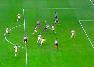 Супергол в чемпионате Мексики: красивый удар через себя на 93-й минуте. Видео