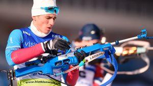 В пасьюте на ЧЕ русские биатлонисты без медали. Они проиграли бывшему россиянину и резерву Норвегии