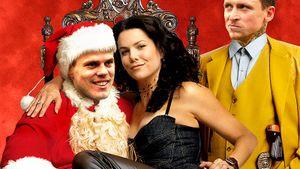 Дзюба— «Гринч», «Плохой Санта» сКокориным иМамаевым. Футболисты— герои новогодних фильмов