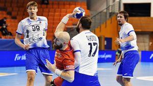 Гандболисты сборной России сыграли вничью с Чехией в отборе к чемпионату Европы