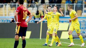 Украина обыграла Испанию! У Шевченко вылетели 12 игроков, после 1:7 от Франции прошло меньше недели