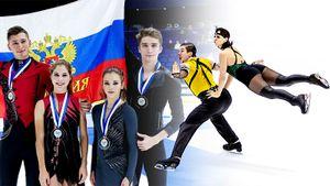 Эффектные Попова/Мозгов, молодые русские чемпионы, удрученный Воронов — фотообзор Finlandia Trophy
