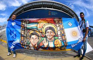 Месси — о смерти Марадоны: «Очень печальный день для всех аргентинцев»