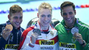 17-летний россиянин Минаков выиграл серебро ЧМ по плаванию. У нас выросла новая суперзвезда