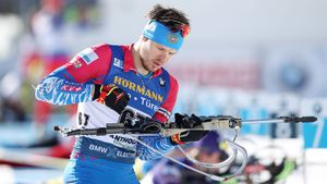 Биатлонист Елисеев заехал в топ-10 на Кубке мира в Чехии. Это всего второй раз в сезоне