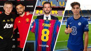 10 самых дорогих футбольных трансферов 2020-го