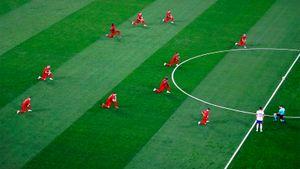 В УЕФА отреагировали на свист российских болельщиков в адрес преклонивших колено футболистов сборной Бельгии