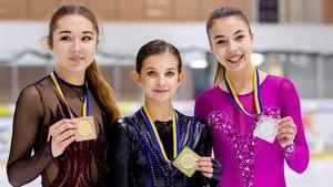 Говорившая про допинг вгруппе Тутберидзе Шаботова выиграла чемпионат Украины. Там она звезда