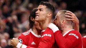 36-летний Роналду— все еще король Лиги чемпионов. Шикарным голом принес победу «МЮ», хотя команда горела 0:2